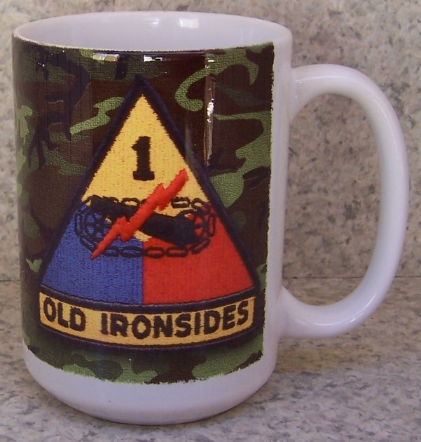 1st Armored Division Military coffee mug thumbnail