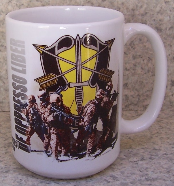 1st Special Forces Military coffee mug thumbnail