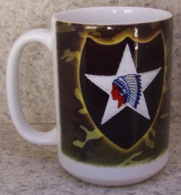 2nd Infantry Division Military coffee mug thumbnail