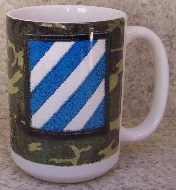 3rd Infantry Division Military coffee mug thumbnail