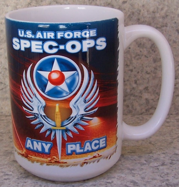Air Force Special Ops Military coffee mug thumbnail
