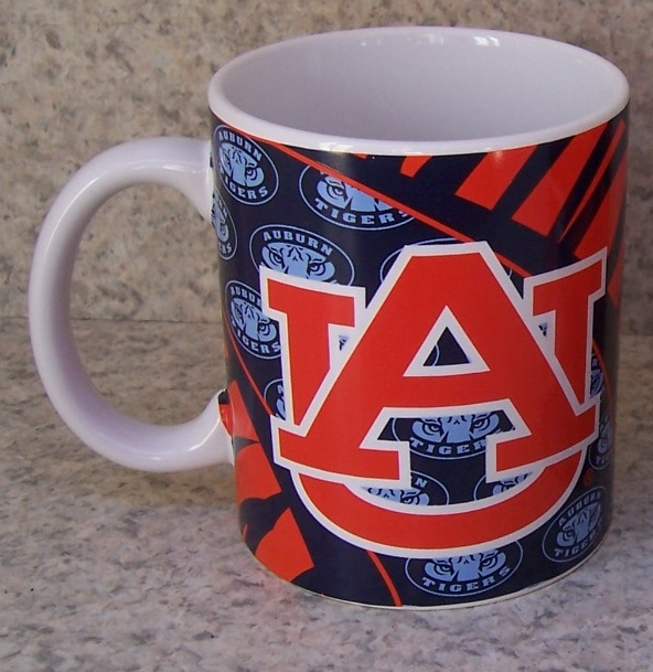 Auburn Tigers NCAA National Collegiate Athletic Association coffee mug thumbnail
