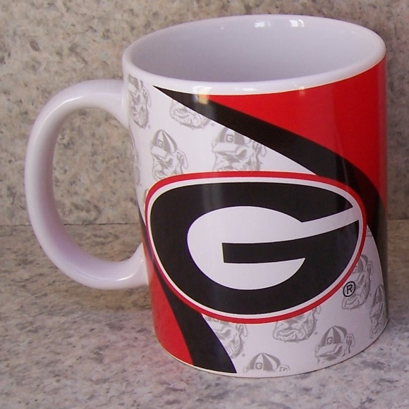 Georgia Bulldogs NCAA National Collegiate Athletic Association coffee mug thumbnail
