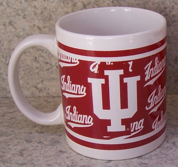 Indiana Hoosiers NCAA National Collegiate Athletic Association coffee mug thumbnail