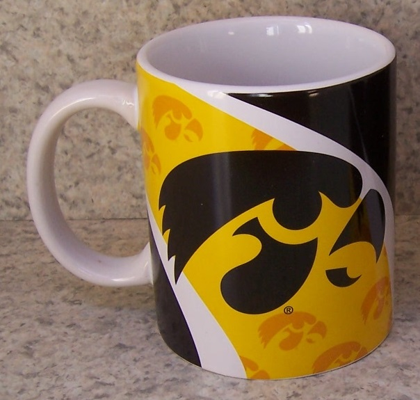 Iowa Hawkeyes NCAA National Collegiate Athletic Association coffee mug thumbnail