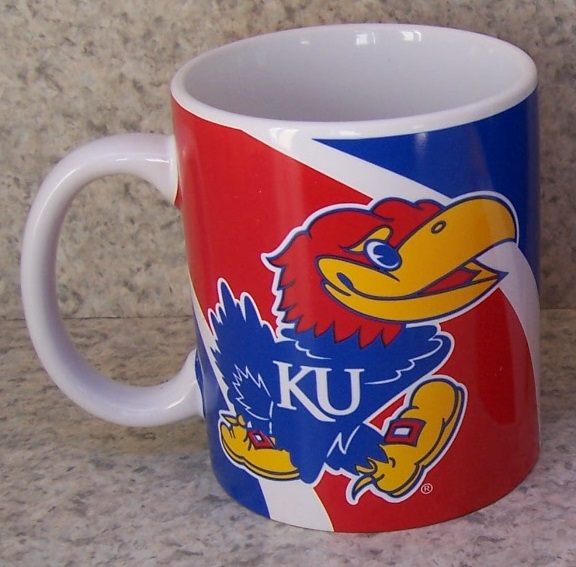 Kansas Jayhawks NCAA National Collegiate Athletic Association coffee mug thumbnail