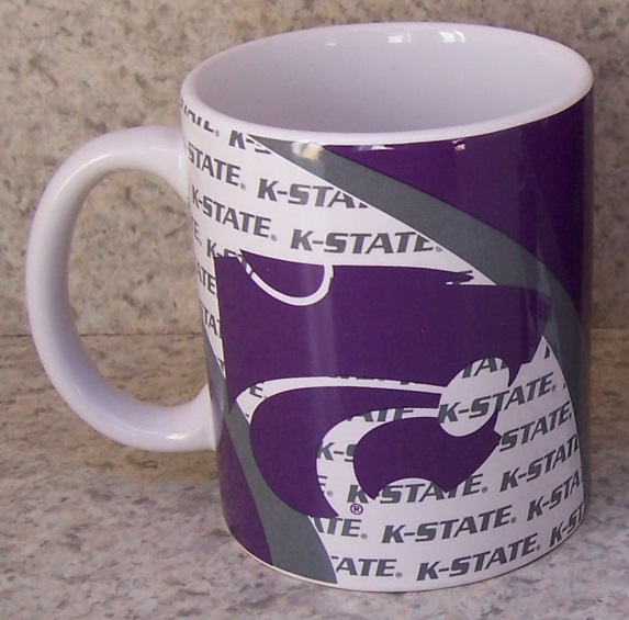 Kansas State Wildcats NCAA National Collegiate Athletic Association coffee mug thumbnail