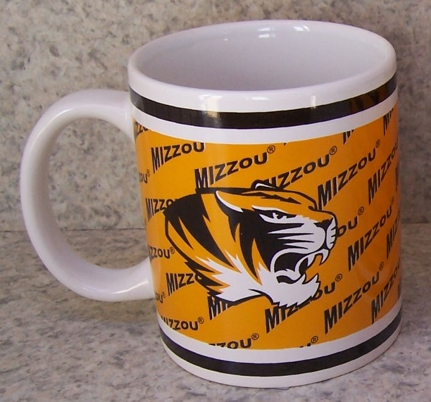 Missouri Mizzou Tigers NCAA National Collegiate Athletic Association coffee mug thumbnail