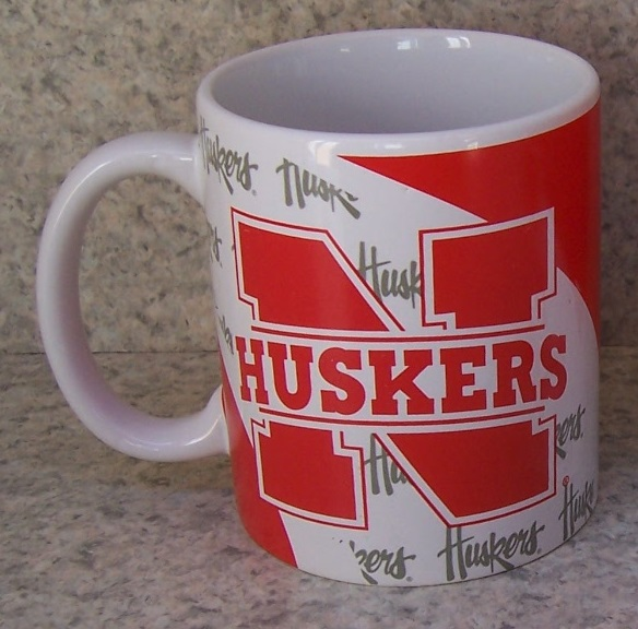 Nebraska Huskers NCAA National Collegiate Athletic Association coffee mug thumbnail