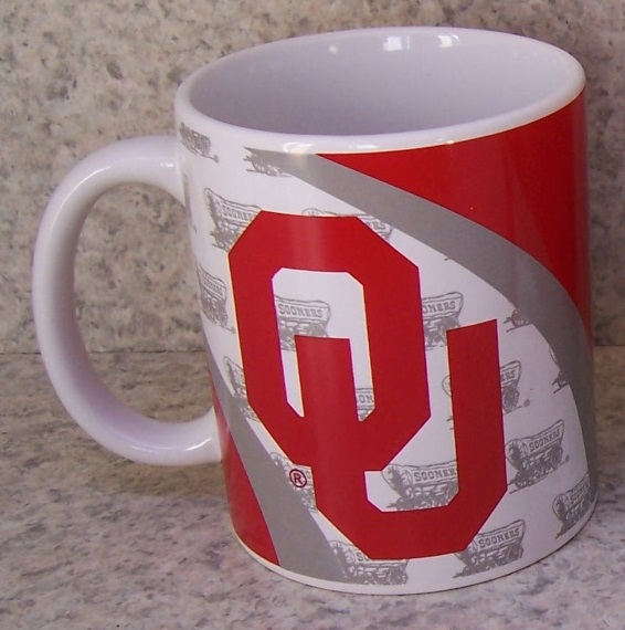 Oklahoma Sooners NCAA National Collegiate Athletic Association coffee mug thumbnail
