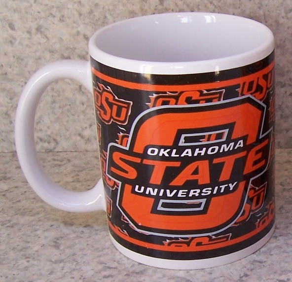 Oklahoma State Cowboys NCAA National Collegiate Athletic Association coffee mug thumbnail