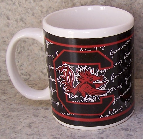 South Carolina Gamecocks NCAA National Collegiate Athletic Association coffee mug thumbnail