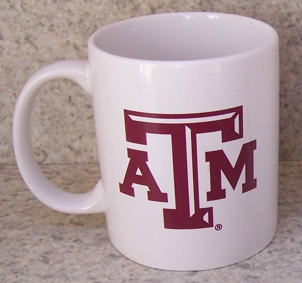 Texas A and M Aggies NCAA National Collegiate Athletic Association coffee mug thumbnail