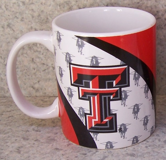 Texas Tech Red Raiders NCAA National Collegiate Athletic Association coffee mug thumbnail