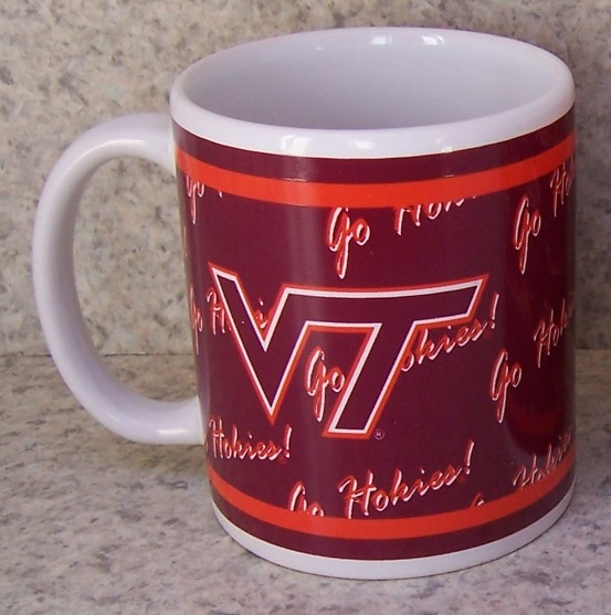 Virginia Tech Hokies NCAA National Collegiate Athletic Association coffee mug thumbnail