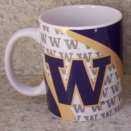 Washington Huskies NCAA National Collegiate Athletic Association coffee mug thumbnail