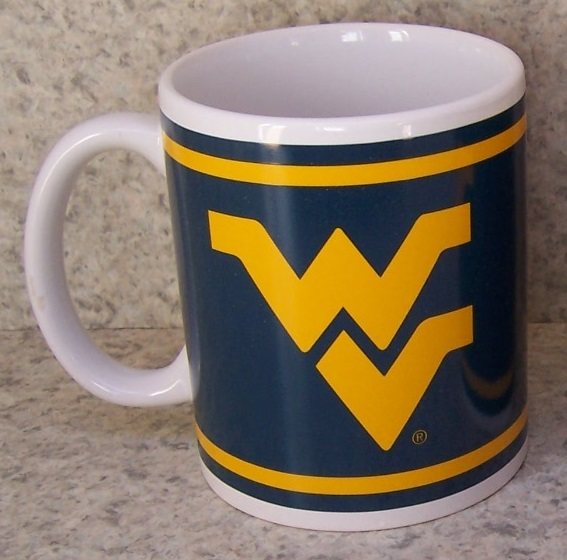 West Virginia Mountaineers NCAA National Collegiate Athletic Association coffee mug thumbnail