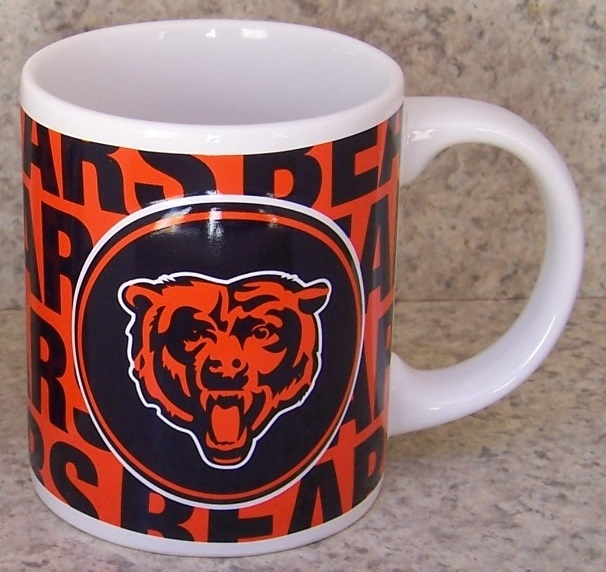 Chicago Bears NFL National Football League coffee mug thumbnail