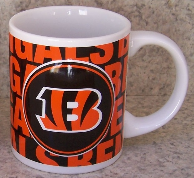 Cincinnati Bengals NFL National Football League coffee mug thumbnail