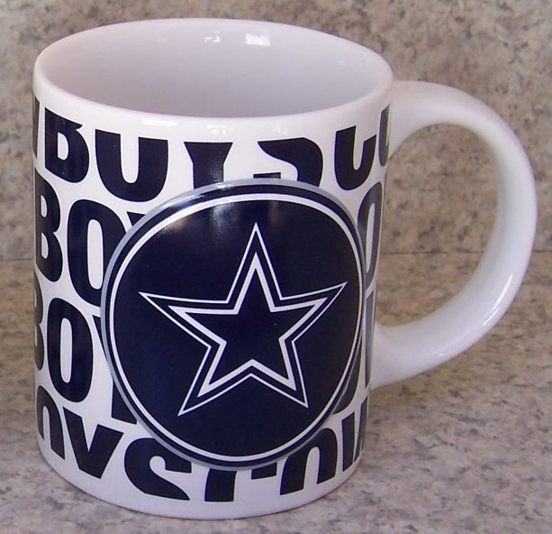 Dallas Cowboys NFL National Football League coffee mug thumbnail