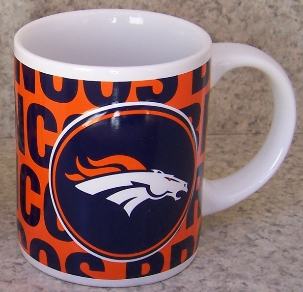 Denver Broncos NFL National Football League coffee mug thumbnail
