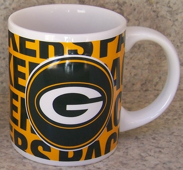 Green Bay Packers NFL National Football League coffee mug thumbnail