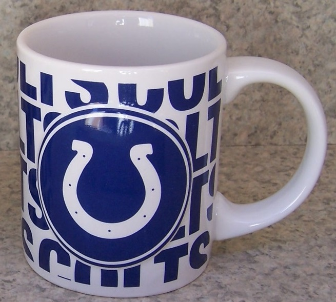 Indianapolis Colts NFL National Football League coffee mug thumbnail
