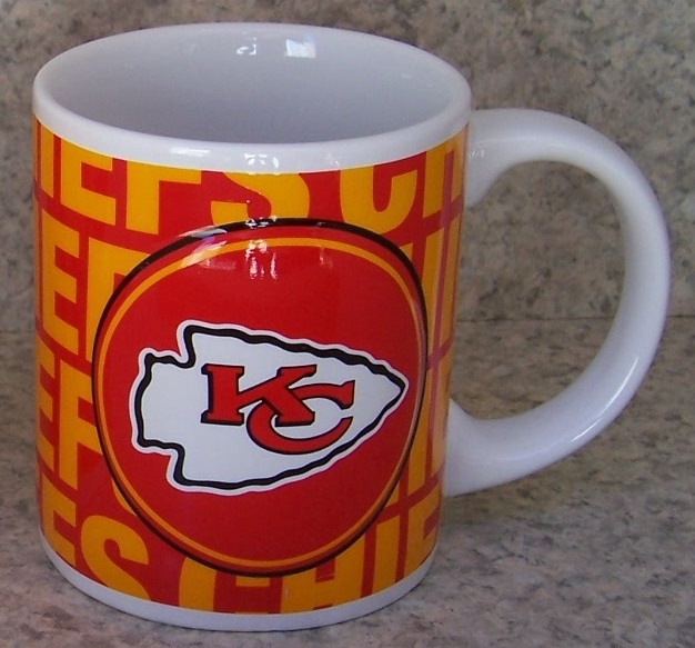 Kansas City Chiefs NFL National Football League coffee mug thumbnail
