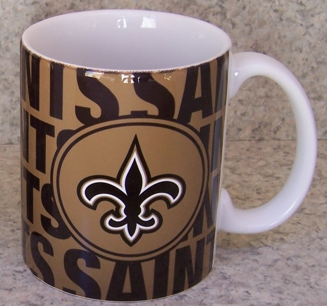 New Orleans Saints NFL National Football League coffee mug thumbnail