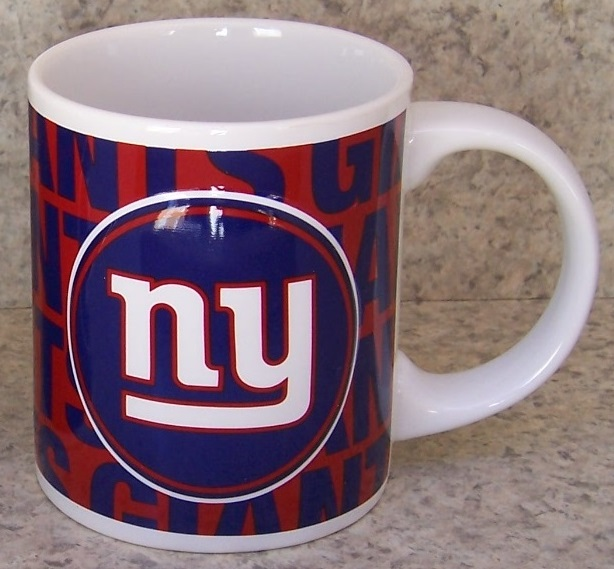 New York Giants NFL National Football League coffee mug thumbnail