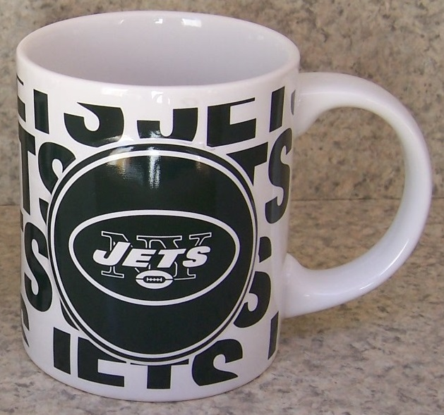 New York Jets NFL National Football League coffee mug thumbnail