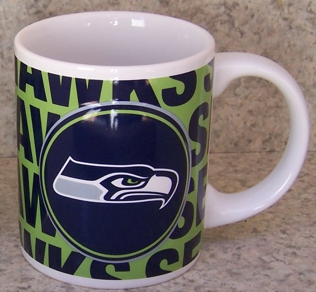 Seattle Seahawks NFL National Football League coffee mug thumbnail