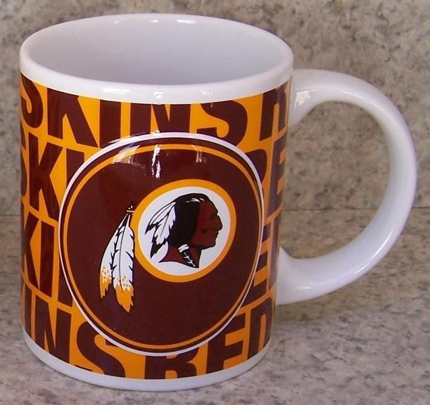 Washington Redskins NFL National Football League coffee mug thumbnail