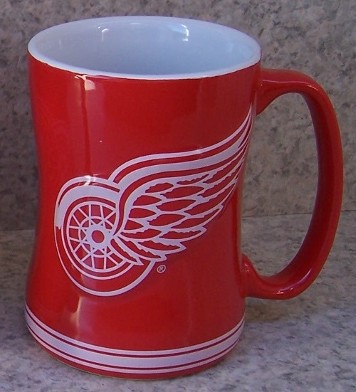 Detroit Red Wings NHL National Hockey League coffee mug thumbnail