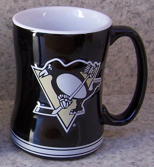 Pittsburgh Penguins NHL National Hockey League coffee mug thumbnail