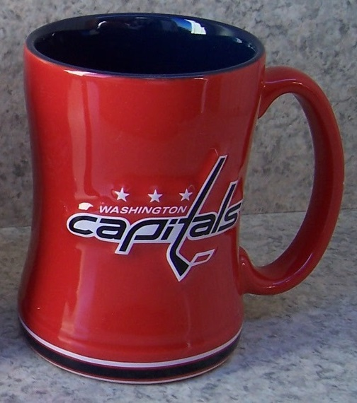 Washington Capitals NHL National Hockey League coffee mug thumbnail