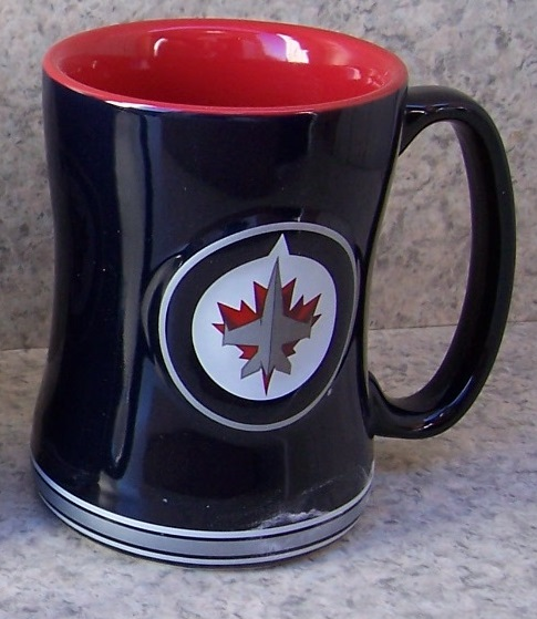 Winnipeg Jets NHL National Hockey League coffee mug thumbnail