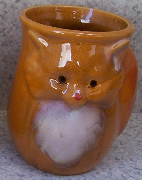 Brown Fox Left Hand Warmer coffee mug thumbnail