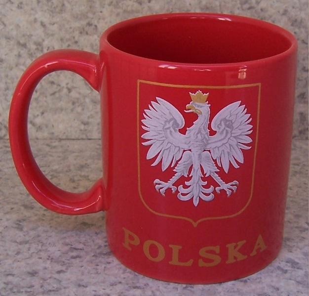 Poland Polish Eagle coffee mug thumbnail
