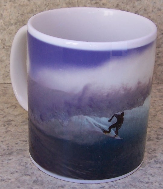 Surfer coffee mug thumbnail