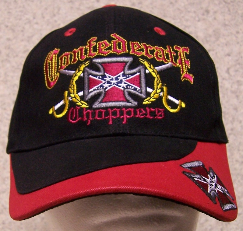 Choppers Confederate States Adjustable Size Baseball Cap thumbnail