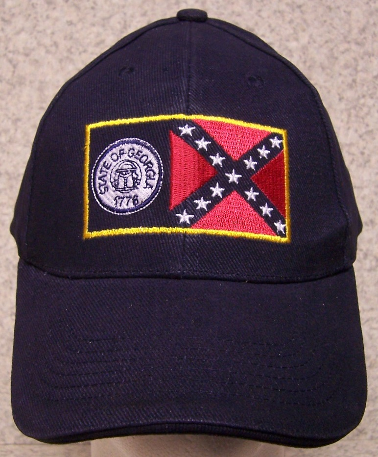 Georgia Adjustable Size Baseball Cap thumbnail