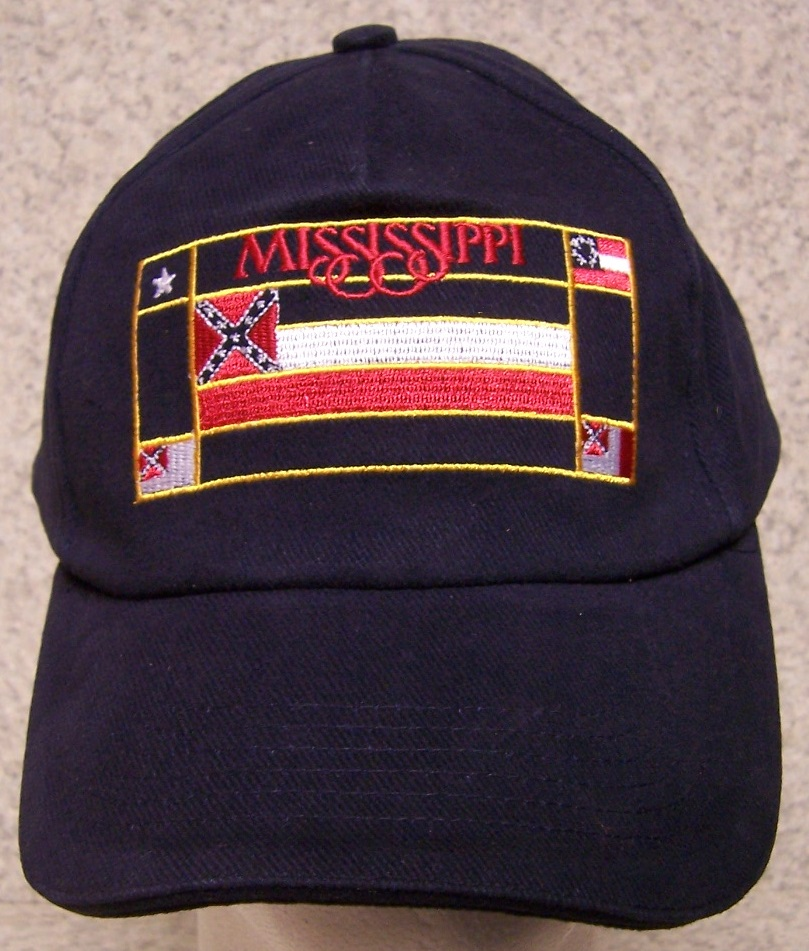 Mississippi Adjustable Size Baseball Cap thumbnail