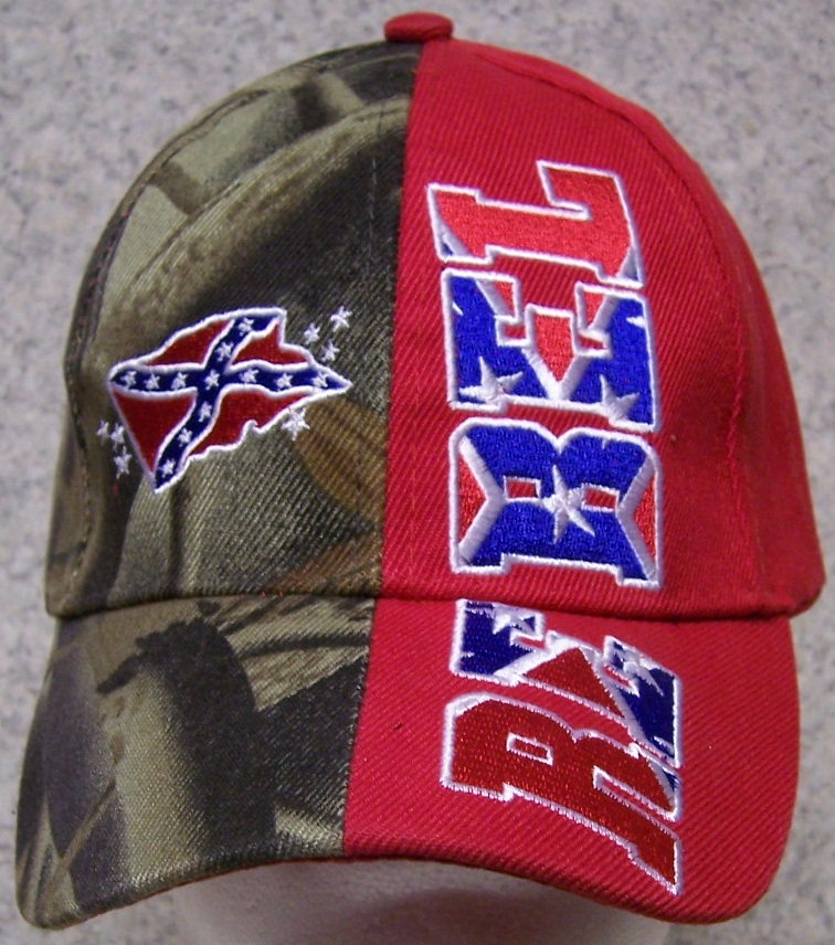 Rebel Confederate States Adjustable Size Baseball Cap thumbnail