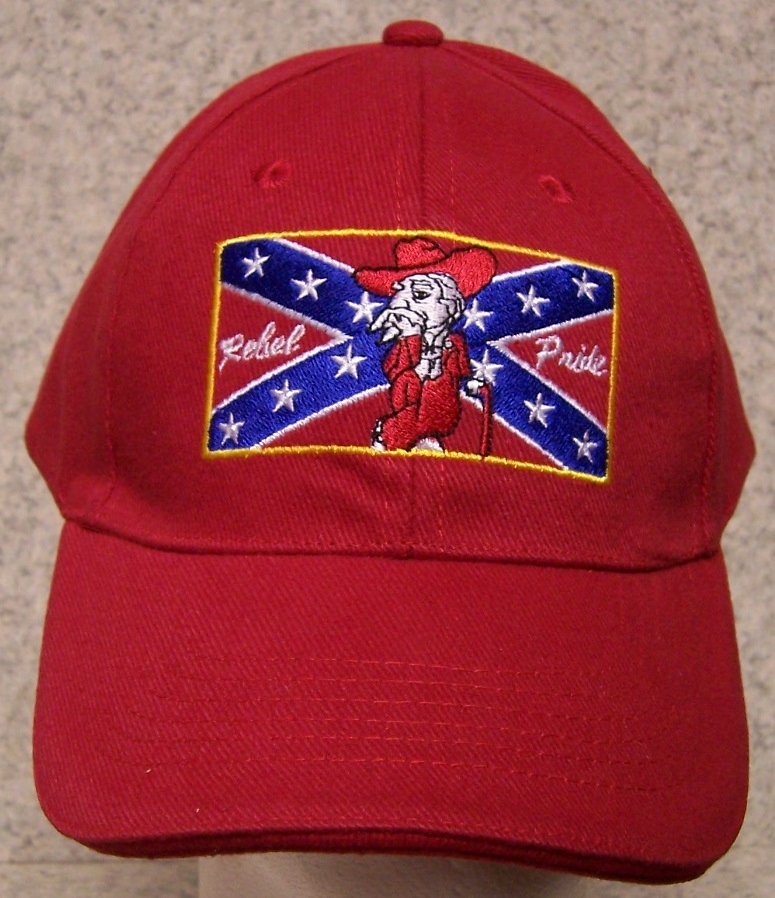 Rebel Pride Colonel Confederate States Adjustable Size Baseball Cap thumbnail