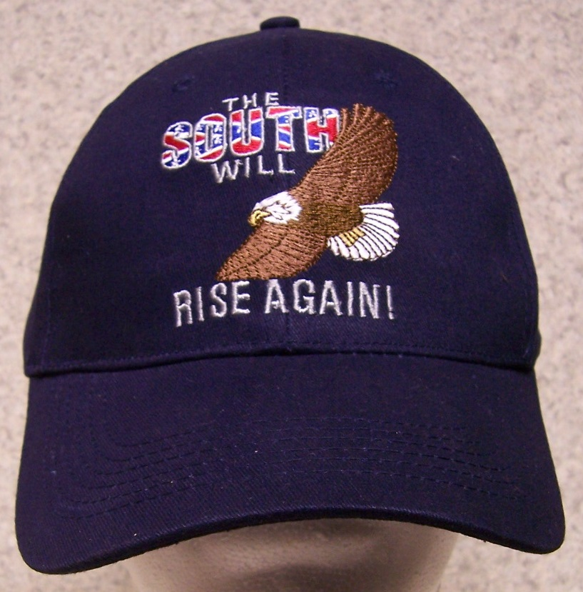 South Will Rise Again Confederate States Adjustable Size Baseball Cap thumbnail