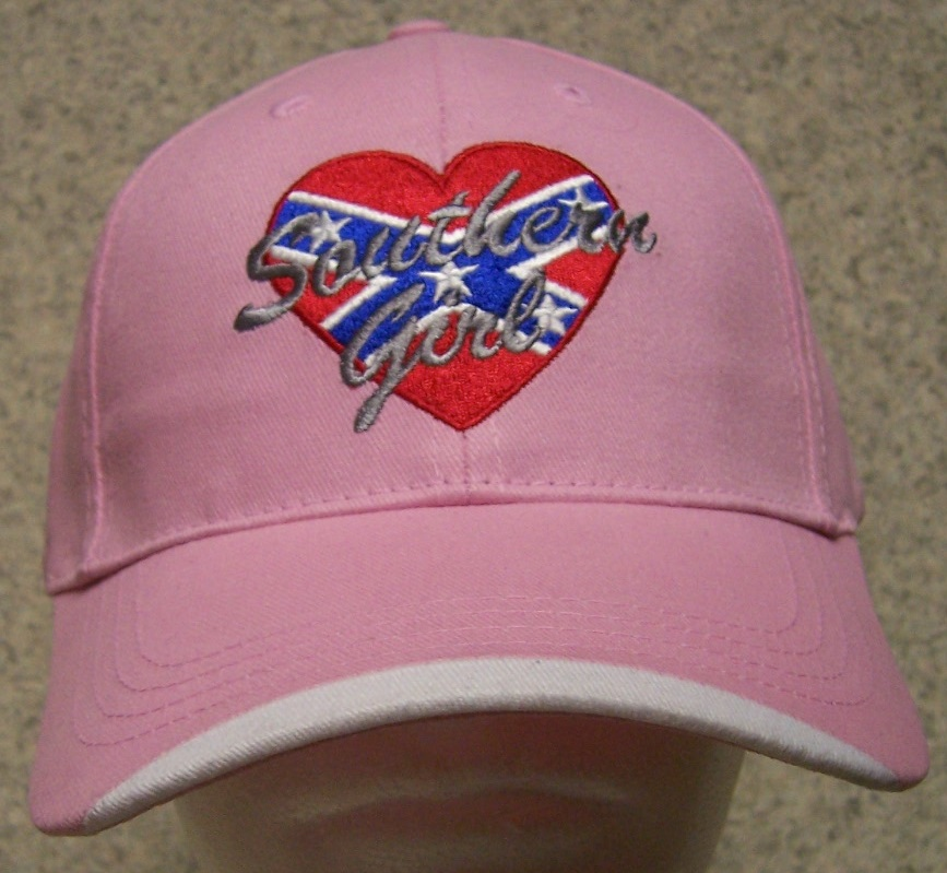 Southern Girl Confederate States Adjustable Size Baseball Cap thumbnail