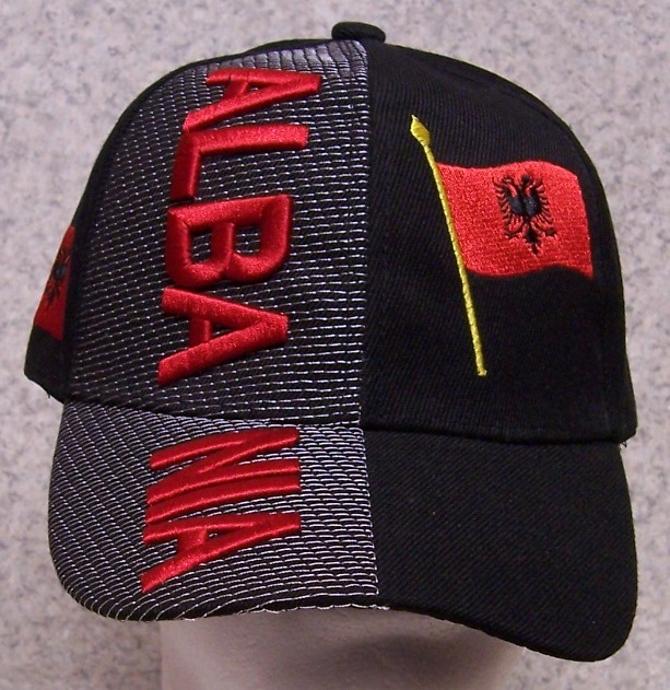 Albania Adjustable Size International Flag Baseball Cap thumbnail