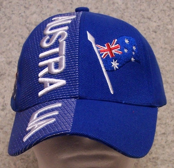 Australia Adjustable Size International Flag Baseball Cap thumbnail