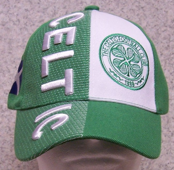 Celtic Adjustable Size International Flag Soccer Football Baseball Cap thumbnail